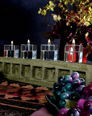 Cube Oil Candle