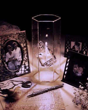 Shadow Dancer Oil Lamp